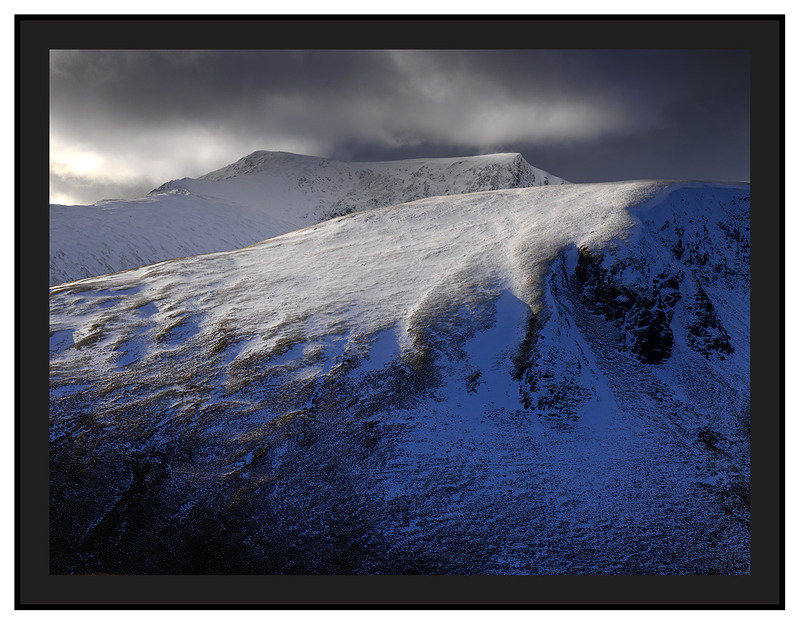 January 2009-Bannerdale Crags and Blencathra North Eastern Cumbrian Fells Cumbria England.
