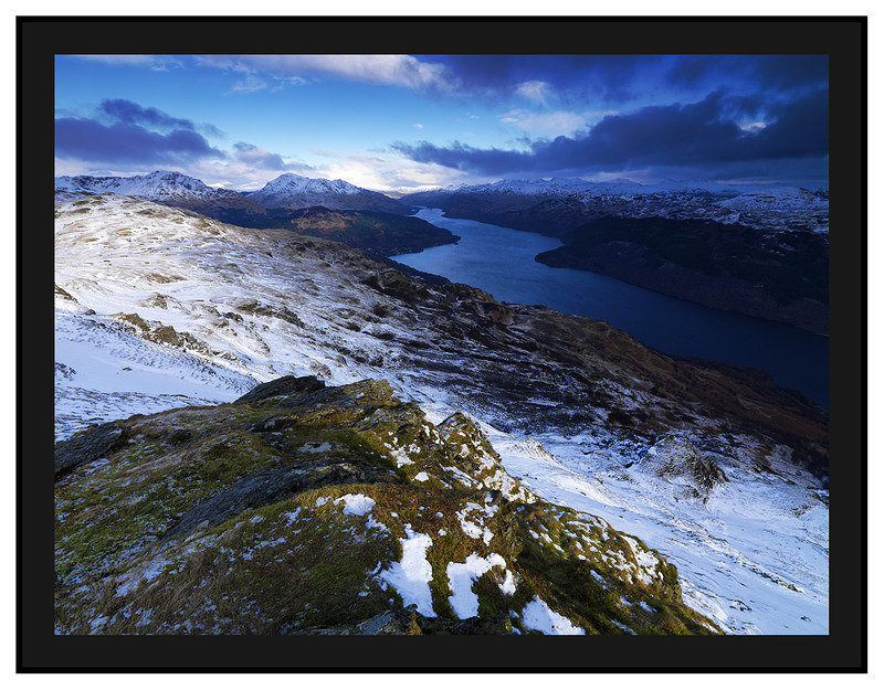 February 2009-Beinn Bhreac Southern Highlands Argyll Scotland.