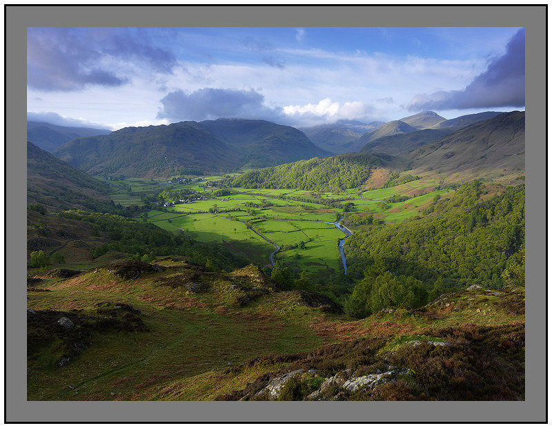 May 2009-King's How Borrowdale Fells Cumbria England.