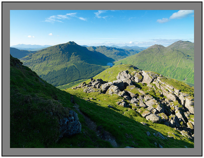 July 2009-Ben Donich Southern Highlands Argyll Scotland.