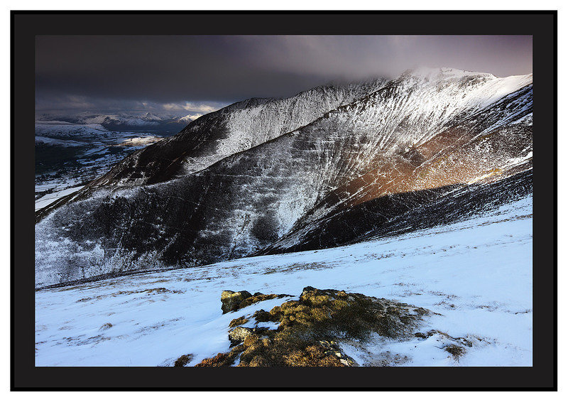 February 2008-Blencathra North Eastern Cumbrian Fells Cumbria England.