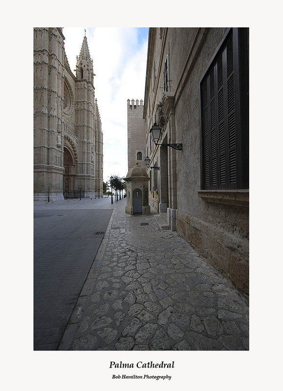 Palma Cathedral-early morning