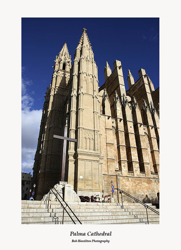 Palma Cathedral-side view