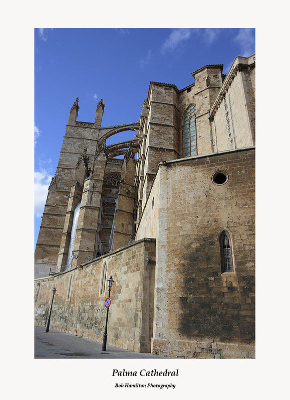 Palma Cathedral-rear view