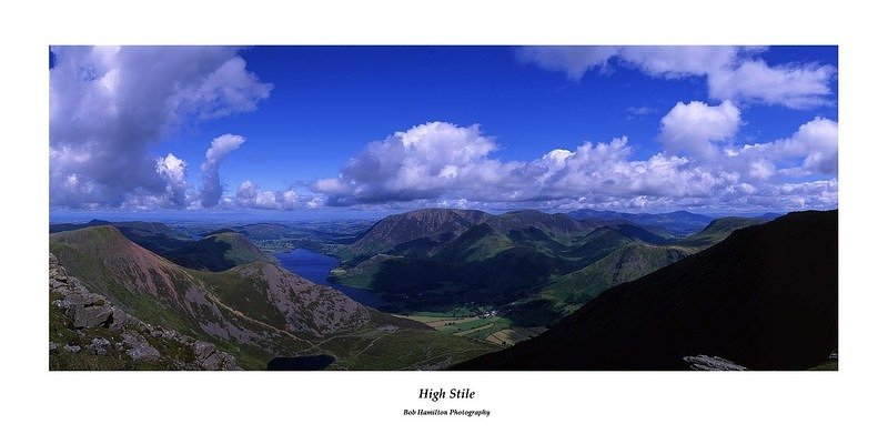 Crummock Water from High Stile