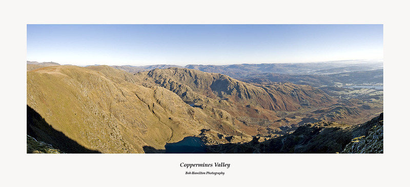 Coppermines Valley from the Old Man of Consiton