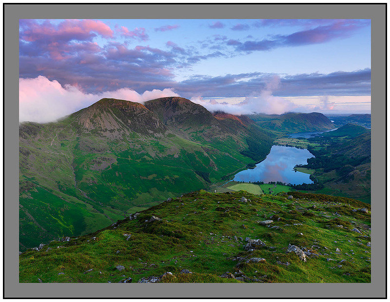 A 5174 Daybreak on High Crag and Buttermere