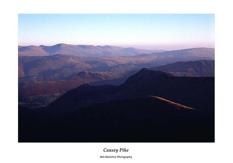 Causey Pike from Grisedale Pike