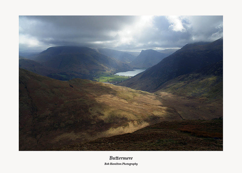 Buttermere from Hen Comb