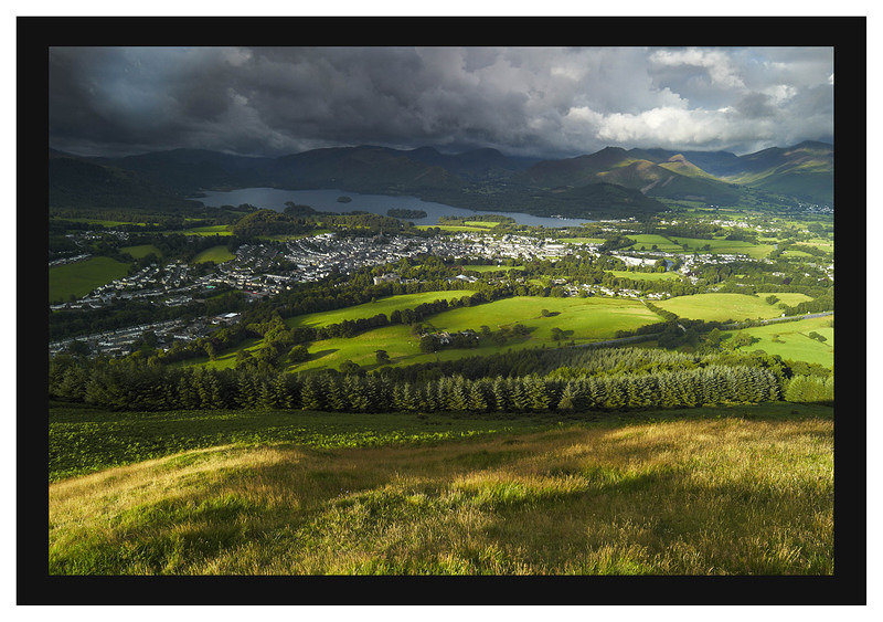 L1001313 Keswick and Derwent Water from Latrigg