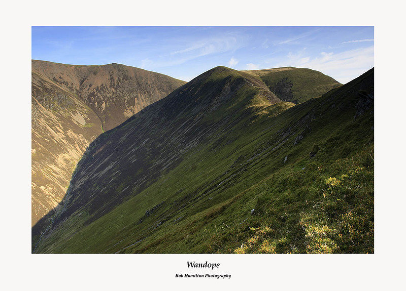 Grasmoor and Wandope from Whiteless Pike