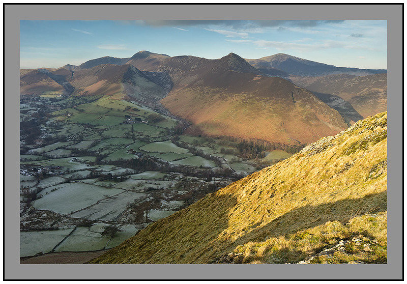 S2014655 Early morning light on the Grasmoor and Coledale Ranges from Catbells