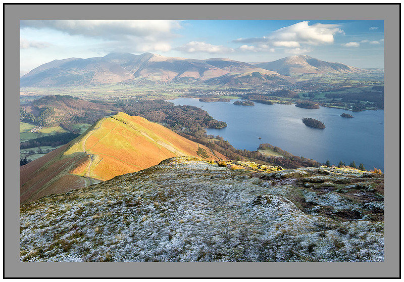S2014668 Derwent Water the Vale of Keswick Skiddaw and Blencathra from Catbells