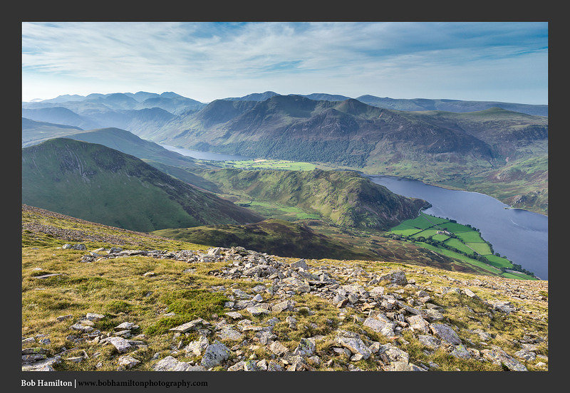 S2017838 Crummock Water Buttermere and the Western Fells from Grasmoor