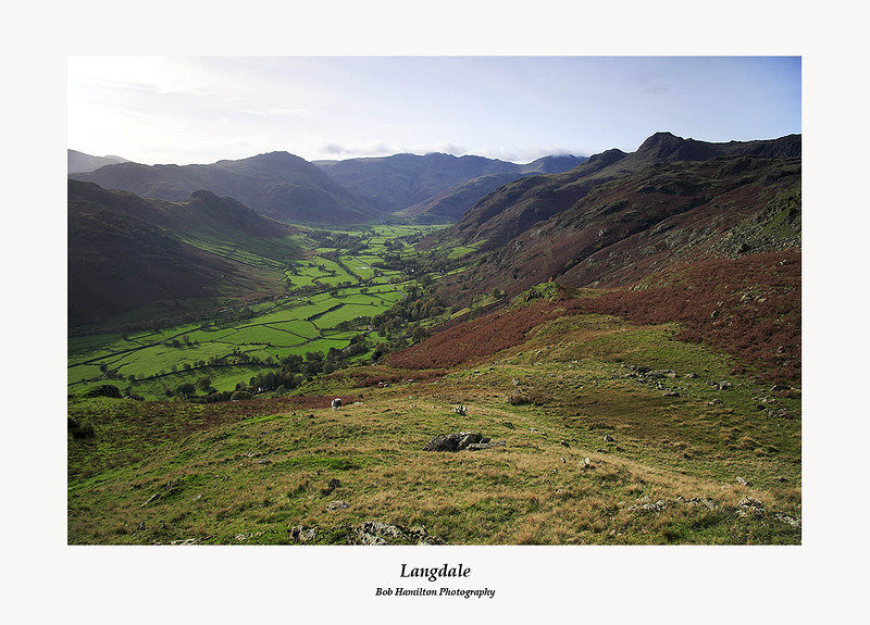Langdale from Raw Pike