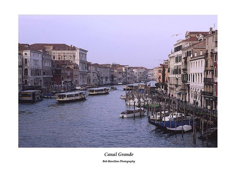 VC85-Grand Canal from Rialto