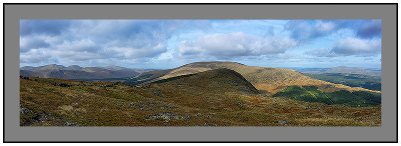 From The Merrick to Cairnsmore of Carsphairn over Corserine