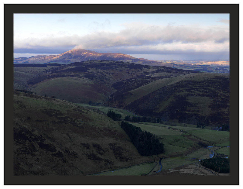 A 00749 First light on Tinto Hill from Fell Shin on Culter Fell
