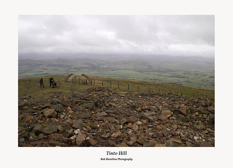 Army manoeuvres on Tinto Hill