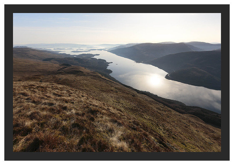 46E0840 Loch Lomond from Ben Lomond's Ptarmigan Ridge
