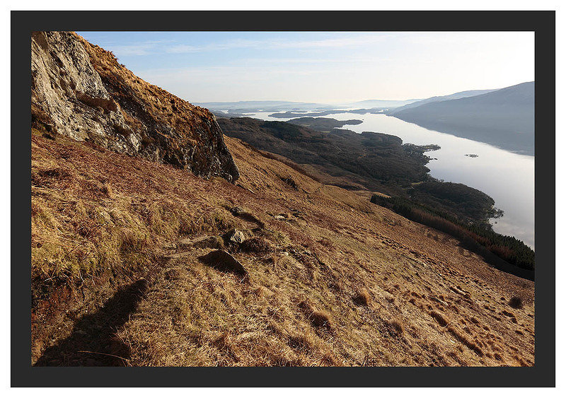 46E0855 Loch Lomond from Ben Lomond's Ptarmigan Ridge