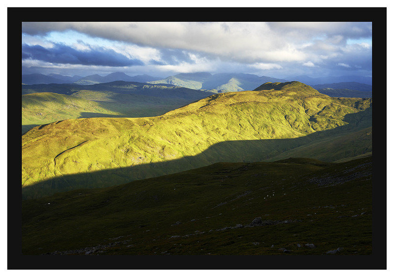 46E4260 First light on Benvane and the Crianlarich hills