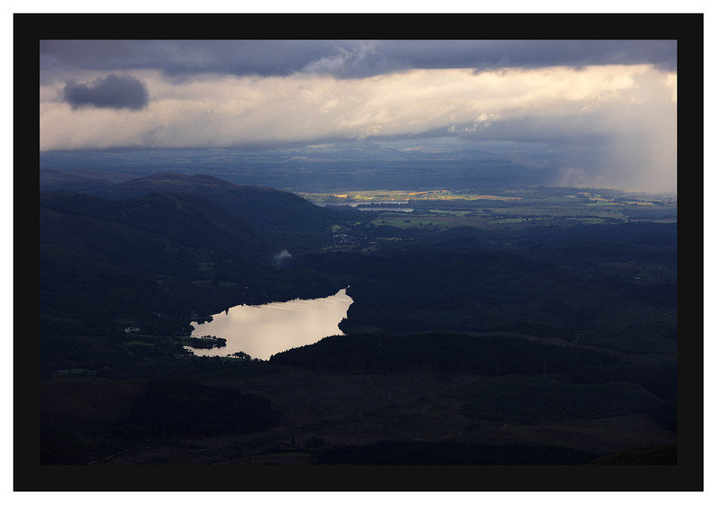 46E4477 Loch Ard from Ben Lomond