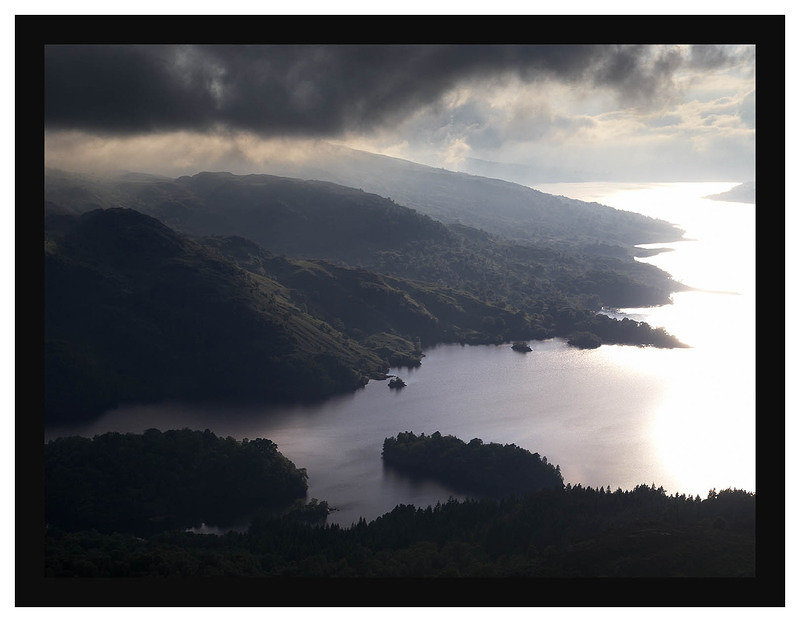 7290609 Evening light on Loch Katrine from Ben A'an