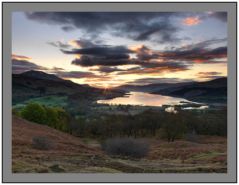 A07927 Sunrise over Loch Tay