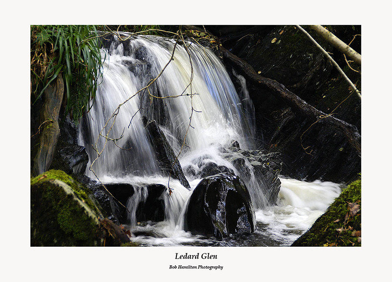 Waterfall in Ledard Glen
