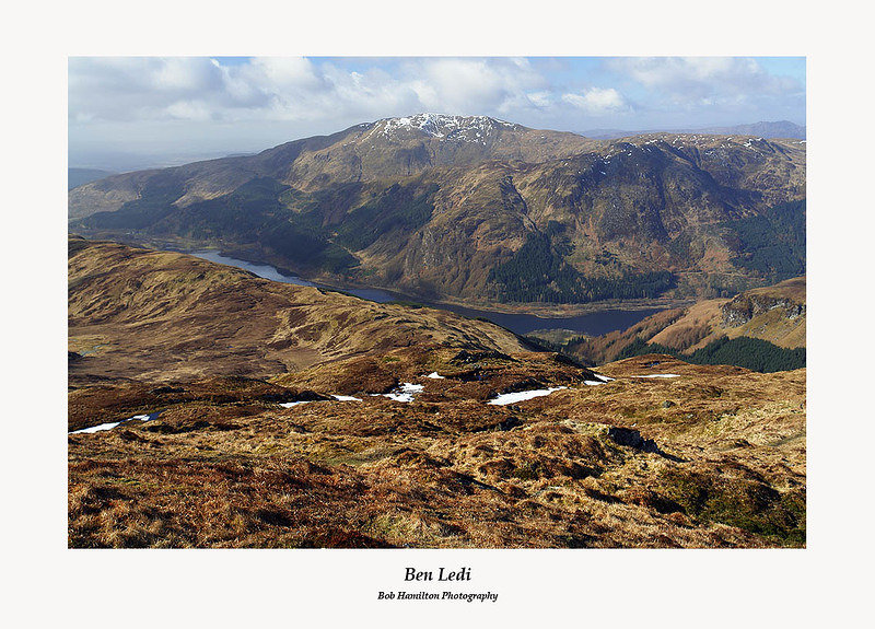 Ben Ledi and Loch Lubnaig from Beinn Each