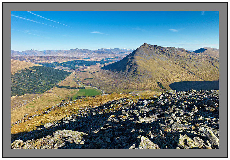 L1003149 Beinn Dorain and the Blackmount Mountains from Beinn Odhar