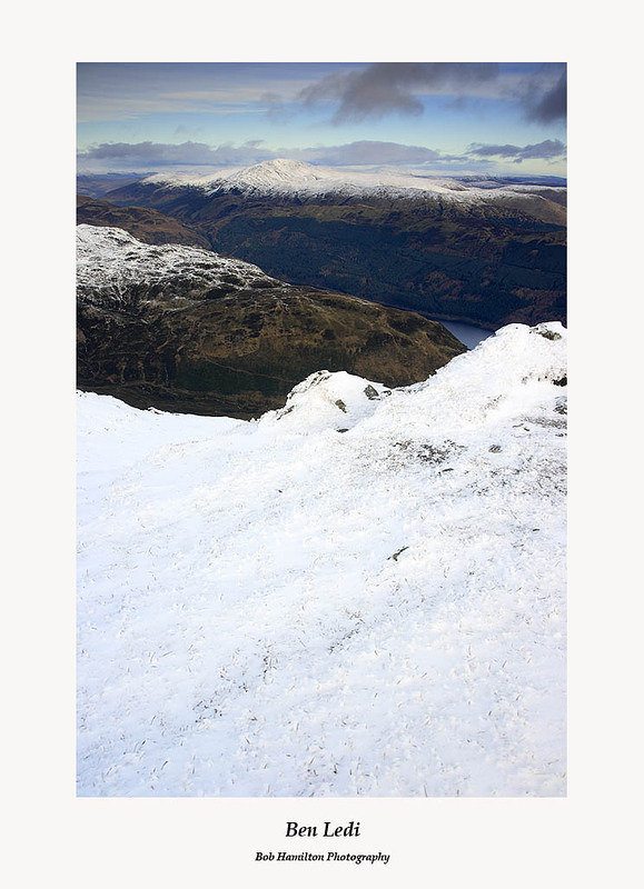 Beinn Each and Loch Lubnaig from the summit of Ben Ledi