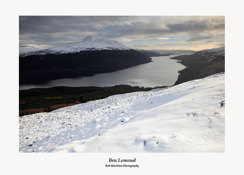 Ben Lomond and Loch Lomond from Cruach Tairbeirt