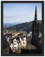 1000126 St Giles Cathedral from Edinburgh Castle