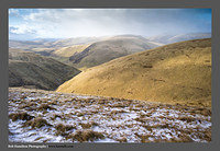 13030129 Capel Fell and the Dalveen Pass from Turn Hill