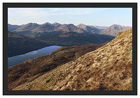 46E0845 The Arrochar Alps from Ben Lomond's Ptarmigan Ridge