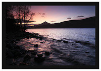 46E7848 Sunrise on Loch Rannoch and Schiehallion