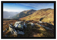 46E7947 Glen Lyon Carn Gorm and Meall Garbh from Meall na Aighean