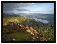 7290640 Late evening light on Loch Venachar from Ben A'an