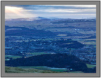 A4514408 Abbey Craig and Stirling from Dumyat