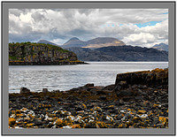 A8628 Beinn Alligin over Upper Loch Torridon from Camas an Eilean