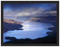 A 02460 Early morning light on Loch Katrine seen from Ben A'an