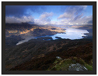A 02494 Ben Venue and Loch Katrine from Ben A'an