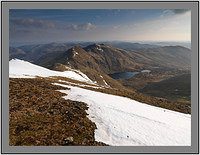 A 02712 Lochan nan Cat An Stuc and Meall Garbh seen from Ben Lawers