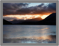 A 10082 Dawn on Loch Creran