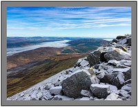 A 7157 Temperature inversion over Loch Tummel seen from Schiehallion