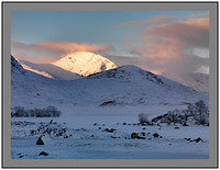 A 7340 First Light on Stob a Choire Odhair