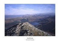 Loch Leven the Mamores and the Pap of Glencoe from Sgorr Dhearg Beinn a'Bheithir