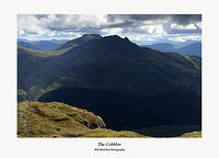 Beinn Narnain and Ben Arthur from Ben Donich